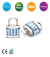 Diamond Lock Shape USB Flash Drive