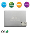 Luxury Metal Card USB Flash Driv e